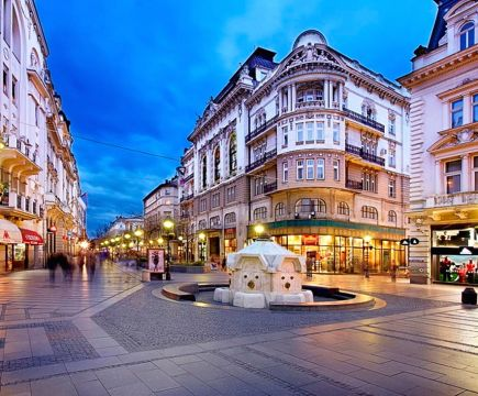 Old Arbat - the most famous street in Moscow
