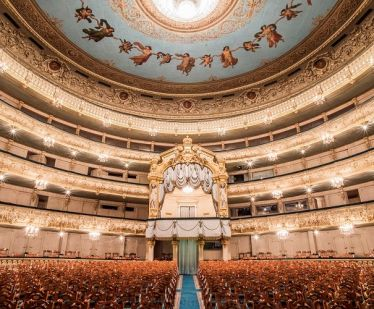The Temple of muses: The Mariinsky Theater for guests of the Northern Capital
