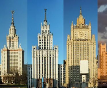 Seven Stalin's skyscrapers or Seven Stalin's sisters