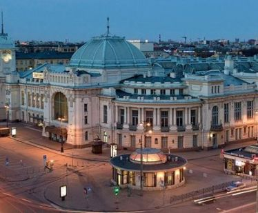 St. Petersburg train stations